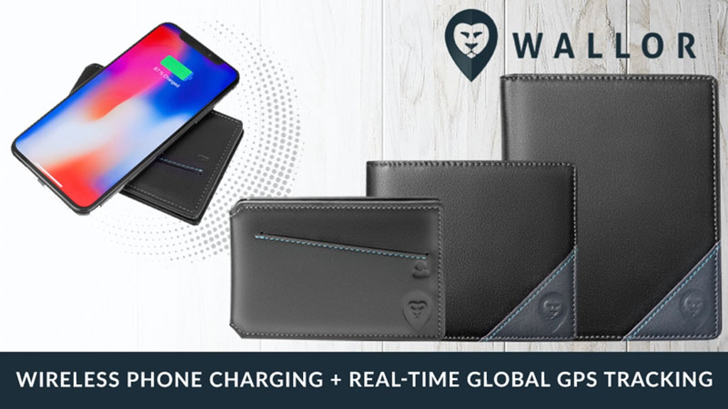 Smart Wallets + Wireless Phone Charging + Real-Time GPS
