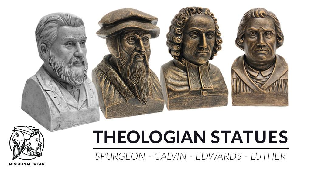 Theologian Statues