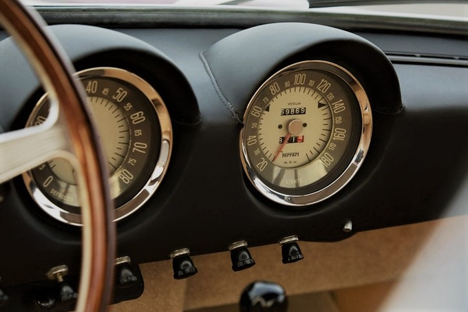 Dual Gauges of the 1950s Ferrari 250GT