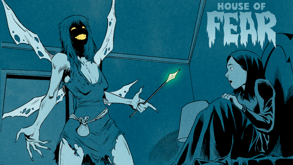 House of Fear: Two new scary comics for kids and adults project video thumbnail
