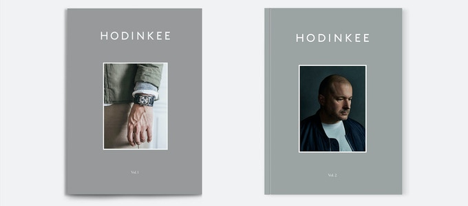 HODINKEE Magazine examines watches and the world that surrounds them. The magazine itself is as beautiful and timeless as the objects inside. The paper is a semi-gloss stock and feels more like a softcover coffee table book than a traditional magazine.