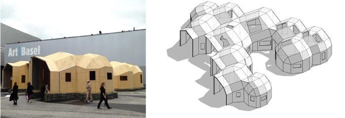 Zome Alloy installed at Art Basel, Basel, 2016