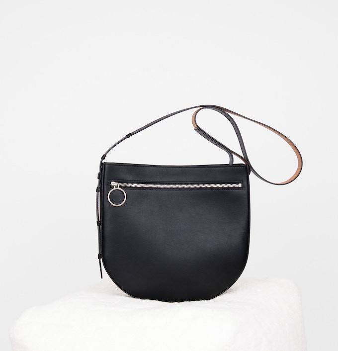 No. 1 'Halfmoon' Medium Shoulder Bag