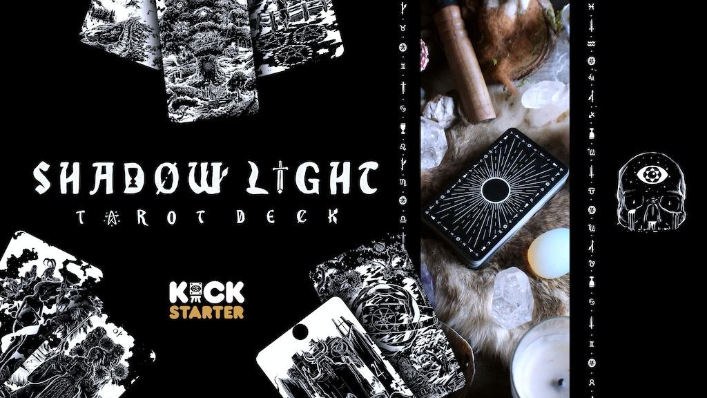 Shadow Light Tarot Deck project video thumbnail