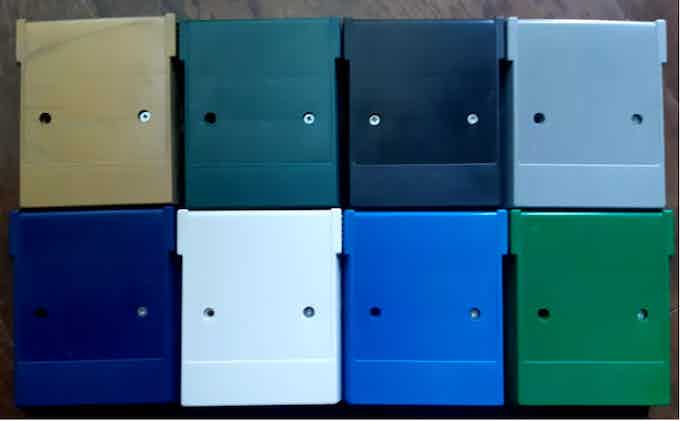Some of our injection molded cartridge shells.