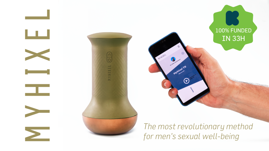 MYHIXEL:the revolutionary method for men's sexual well-being is the top crowdfunding project launched today. MYHIXEL:the revolutionary method for men's sexual well-being raised over $32318 from 0 backers. Other top projects include Centurion, the Elderwood Deck Box, Quickstarter | Buddy Wrap, ...