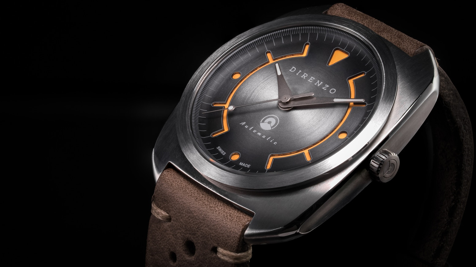 The most beautiful retro-futuristic  Swiss Made Automatic Watch ever made.