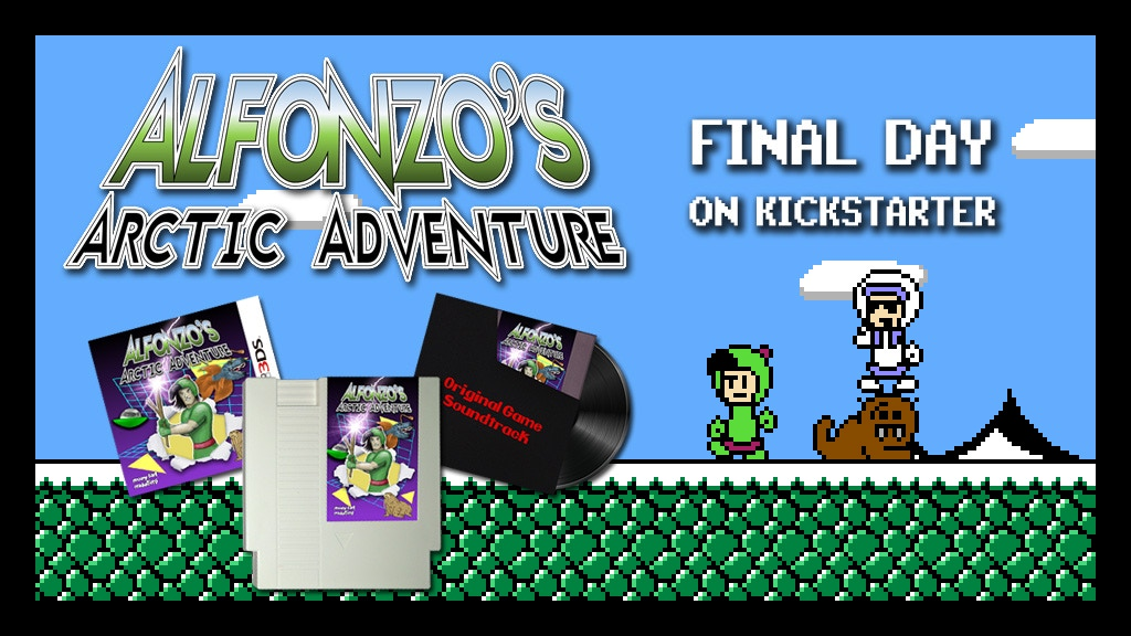 Alfonzo's Arctic Adventure - A new game for the NES project video thumbnail
