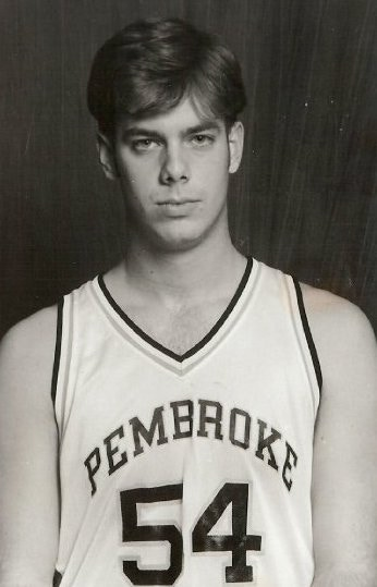 A press photo from the director's college days at Pembroke.