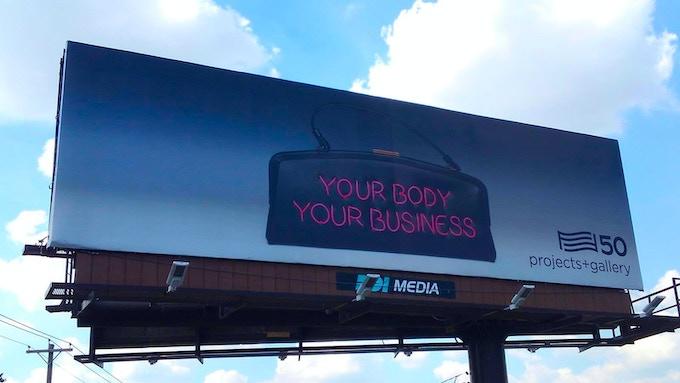 For Freedoms Billboard, Saint Louis.