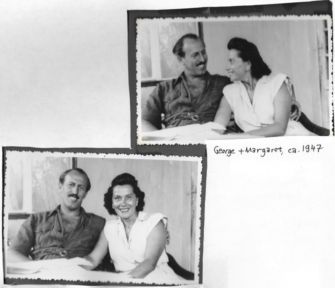 My grandparents George and Margaret