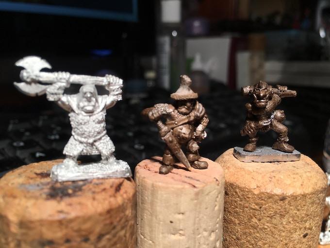 Ogre Boss and Trooper