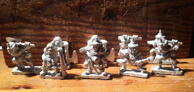 Full Unit of 9 Ogres.