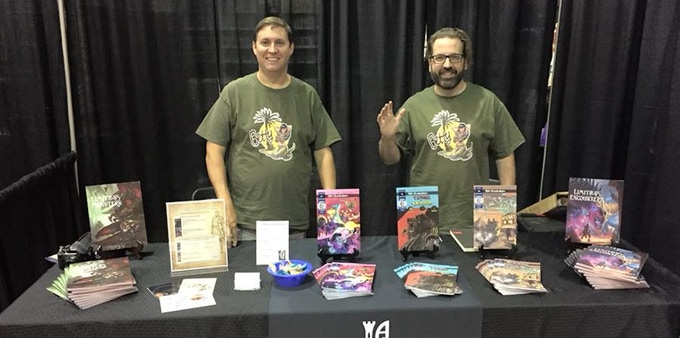 Andy (left) and Mike (right) at Wizard World 2018 in Chicago.