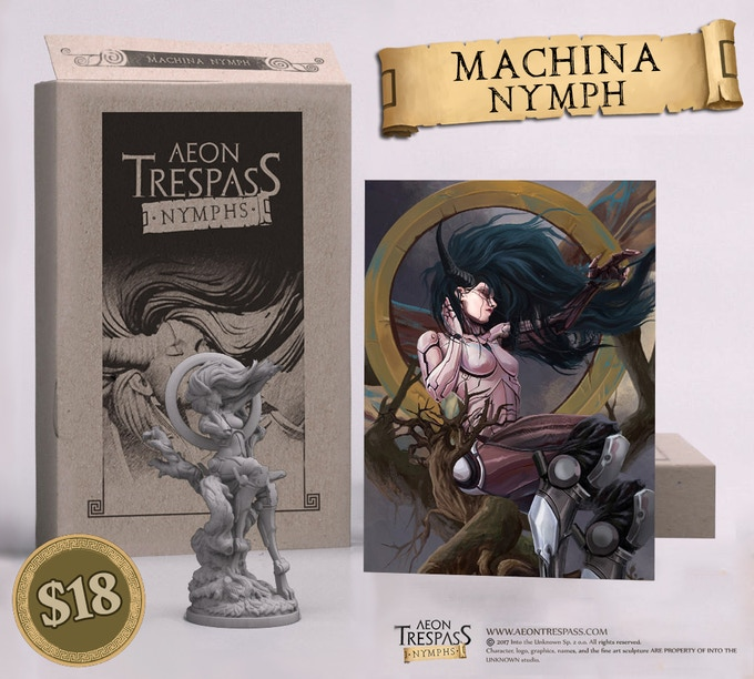 Machina Nymph deluxe set
