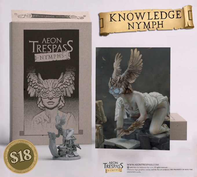 Knowledge Nymph deluxe set