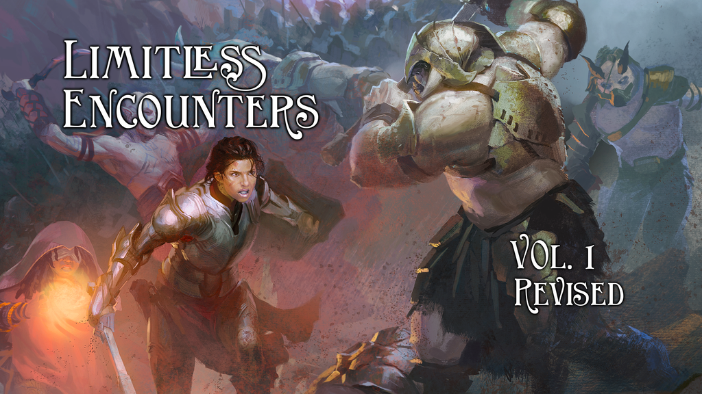 Limitless Encounters vol. 1 Revision (173 5E encounters) project video thumbnail