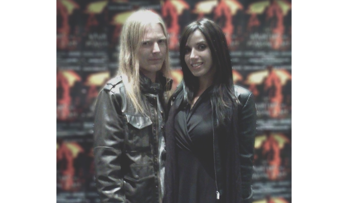 Michael Kyne and Bianca Allaine