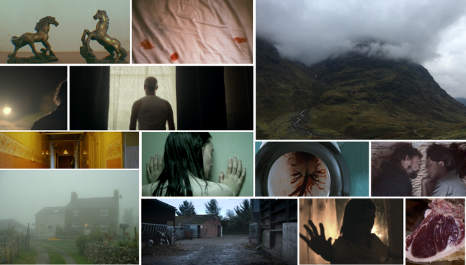 visual references: Shell (2012), Tyrannosaur (2011), Hunger (2008), A Cuillin Rising (2011); The Levelling (2016)