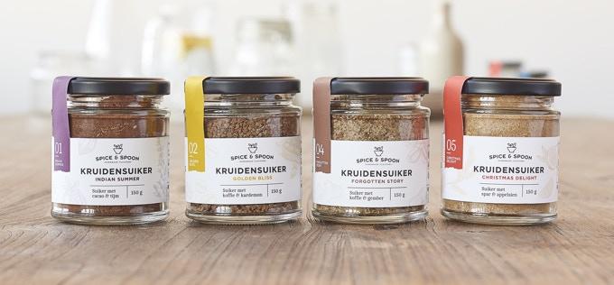 Spice & Spoon kruidensuikers