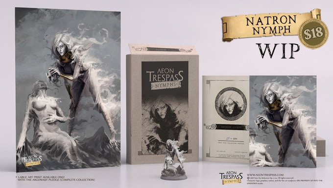 First Run Collector's Edition Natron Nymph deluxe set