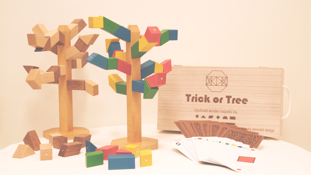 Trick or Tree : Handmade Magnetic Wooden Blocks Toy & Game project video thumbnail