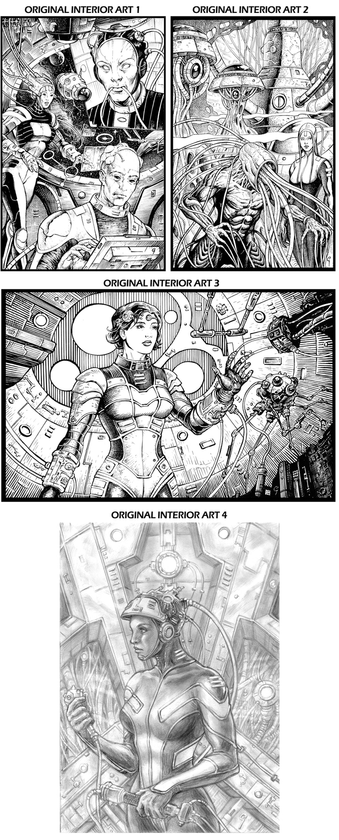 Original Interior Art Rewards