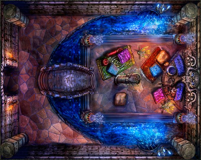 Quest Chamber - Garden of Paradise