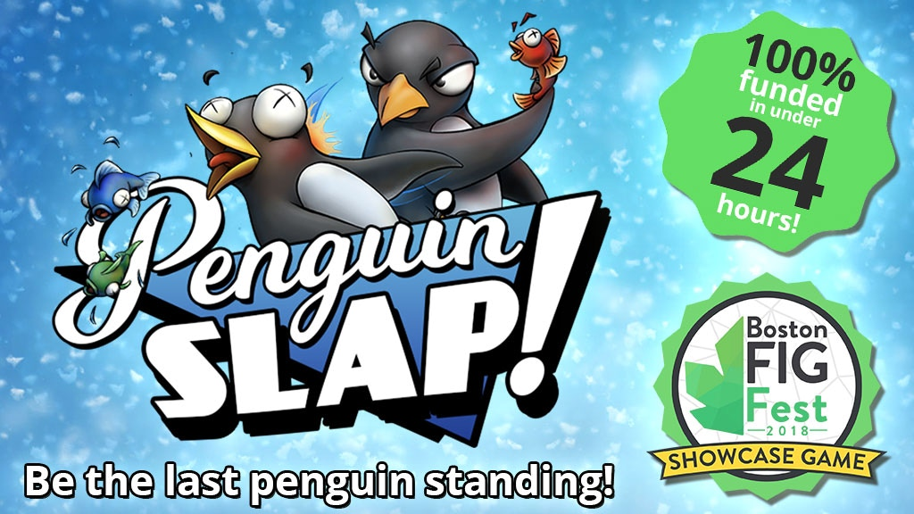 Penguin SLAP! Be the last penguin standing