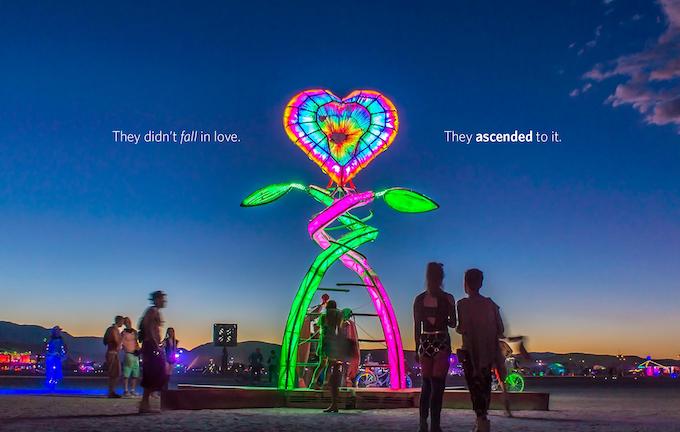 Ascension at Burning Man 2016. Photo by Leslie L. Sigala