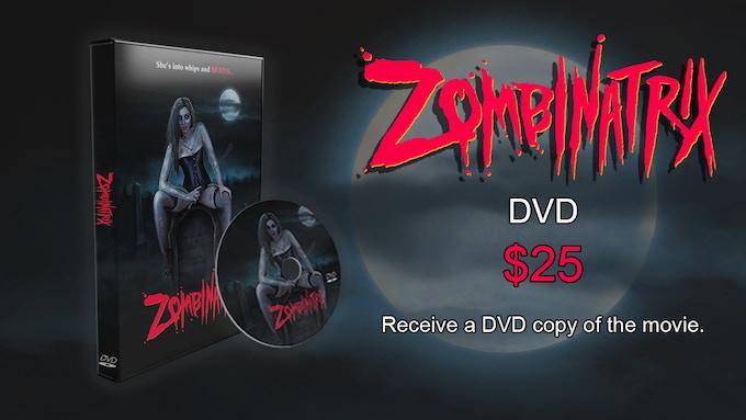 ZOMBINATRIX DVD