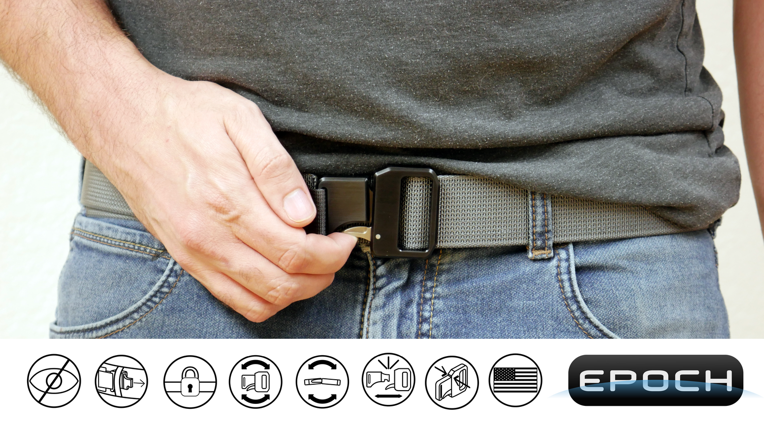 The no-BS belt that you never have to re-adjust.