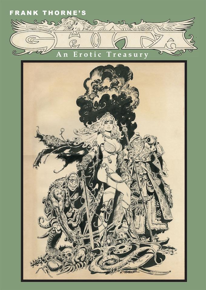 Frank Thorne's Ghita An Erotic Treasury vol II LTD