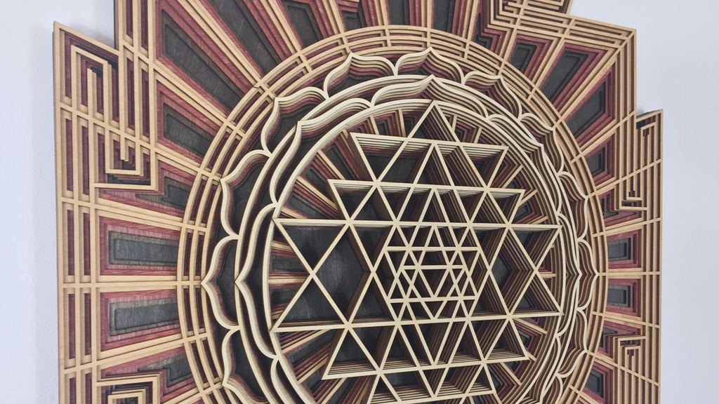 Activated Art | Laser Cut Geometric Mandalas project video thumbnail