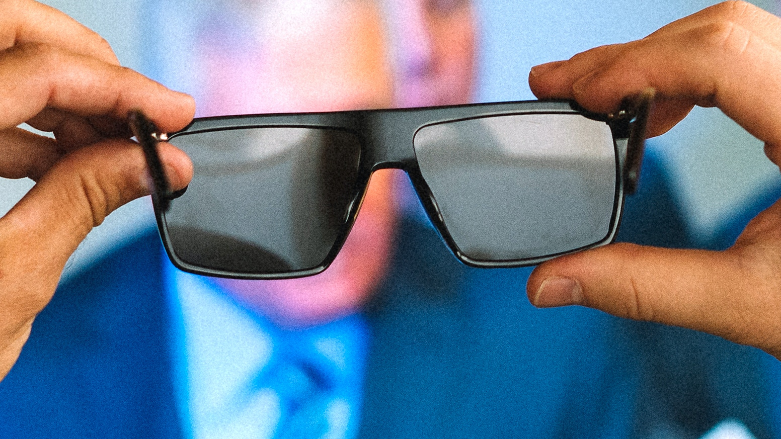 Glasses that allow you to live IRL (In Real Life) and see everything except screens