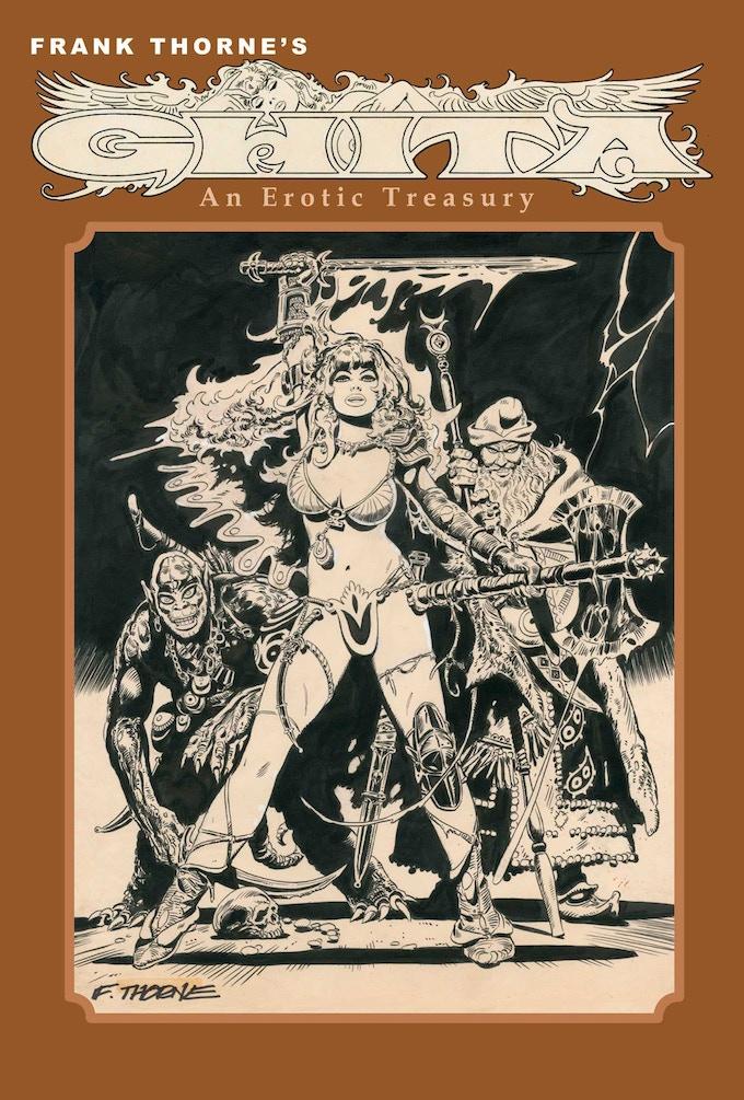 Frank Thorne's Ghita An Erotic Treasury vol I LTD