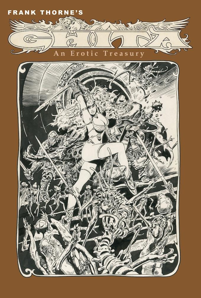 Frank Thorne's Ghita An Erotic Treasury vol I