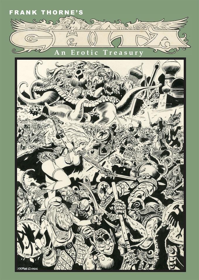 Frank Thorne's Ghita An Erotic Treasury vol II