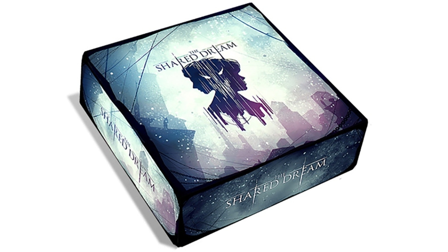 A reprint of the modern fantasy cooperative board game The Shared Dream.