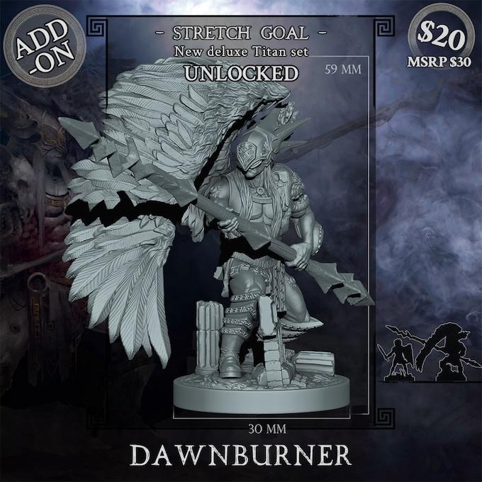 Dawnburner Titan deluxe set