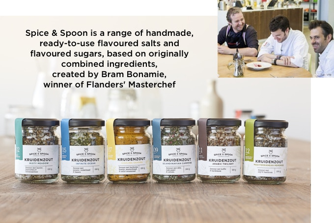 Spice & Spoon flavoured salts