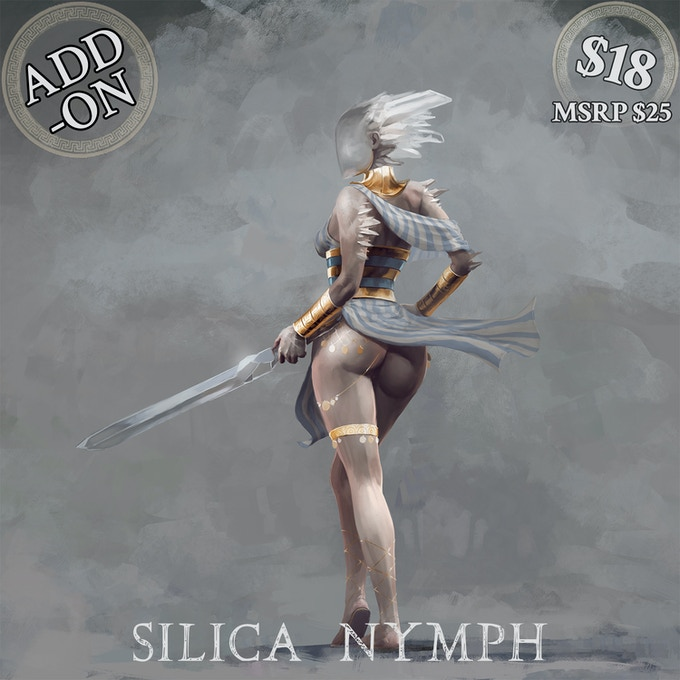 Silica Nymph deluxe set