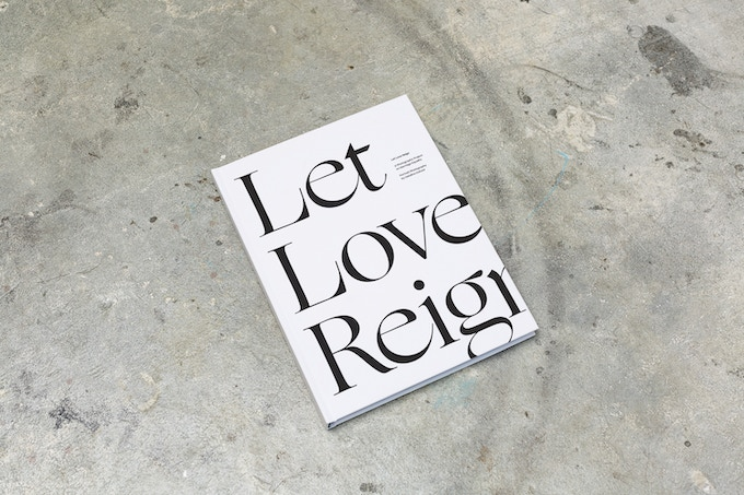 Let Love Reign - book cover sample