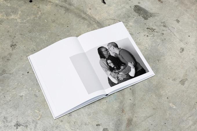 Let Love Reign - Portrait Spread sample