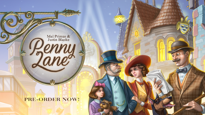 An imaginative worker placement game where players compete to build the most prosperous city avenue!