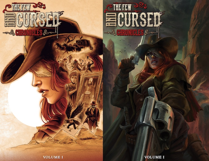 Regular cover by Fabiano Neves on the left / Variant cover by Rodrigo Ramos on the right