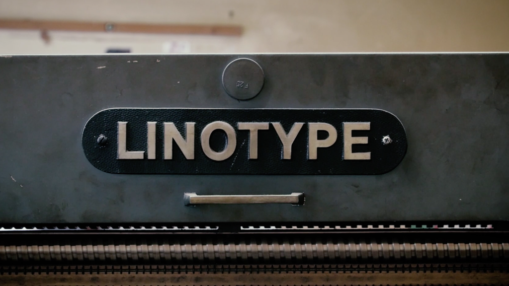 THE MAGIC OF LINOTYPE: SAVE AND RESTART A PRINTING LEGEND project video thumbnail
