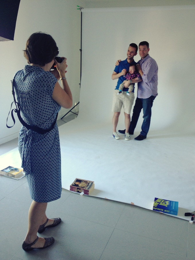 Let Love Reign photo shoot behind-the-scenes in Los Angeles, California, 2014