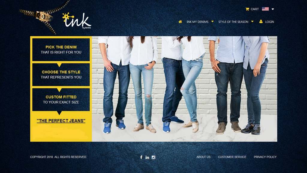 Ink My Denims — Custom Jeans