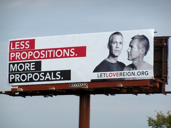 Let Love Reign Billboard - Charlotte, North Carolina